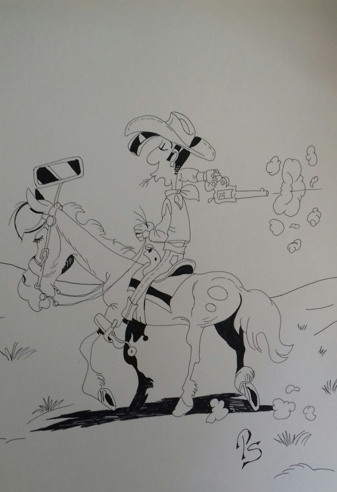 Lucky Luke par PenStilos
